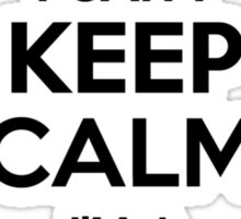 I cant keep calm Im a CHIRIF Sticker