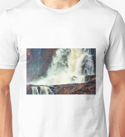 Iguazu Falls - Hitting the Rocks Unisex T-Shirt