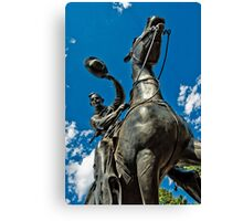 Oklahoma Land Run Canvas Print