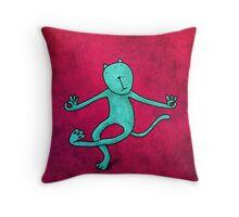 The Goa Cat Throw Pillow