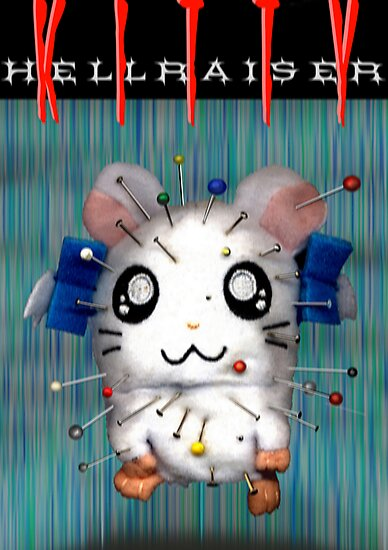 Hellraiser Kitty by santakaoss