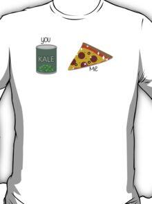Kale VS Pizza T-Shirt