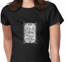 Frog King Mantle Piece Womens Fitted T-Shirt