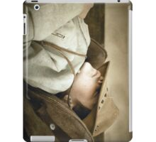 Sleeping cowboy... Free State, South Africa iPad Case/Skin
