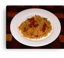Jambalaya - A taste of cajun cuisine! Canvas Print