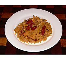 Jambalaya - A taste of cajun cuisine! Photographic Print