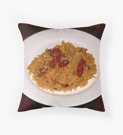 Jambalaya - A taste of cajun cuisine! Throw Pillow