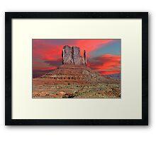 SUNRISE - MONUMENT VALLEY Framed Print