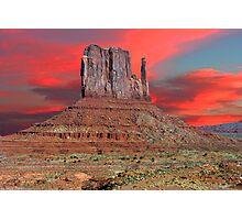 SUNRISE - MONUMENT VALLEY Photographic Print