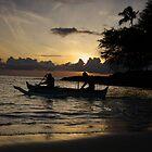 Sunday Sunset by James Deverich