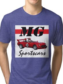 MG with muscle Tri-blend T-Shirt