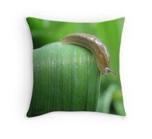 Slimy Slowpoke Throw Pillow