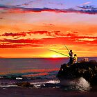 Sunset fishermen by georgieboy98