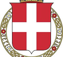 Coat of Arms of the Duchy of Savoy by PattyG4Life