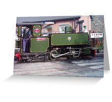 Talyllyn Narrow Guage Railway, North Wales Greeting Card