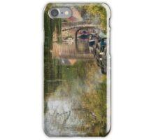 """""""Narrow Boat Lane"""" iPhone Case/Skin"""