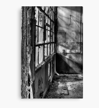 Decayed Office Canvas Print