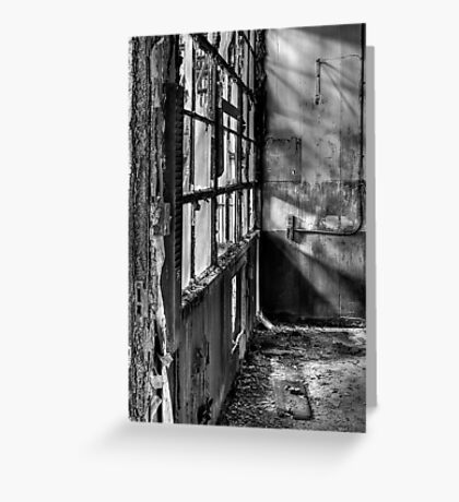 Decayed Office Greeting Card