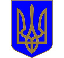 Coat of Arms of Ukraine Photographic Print