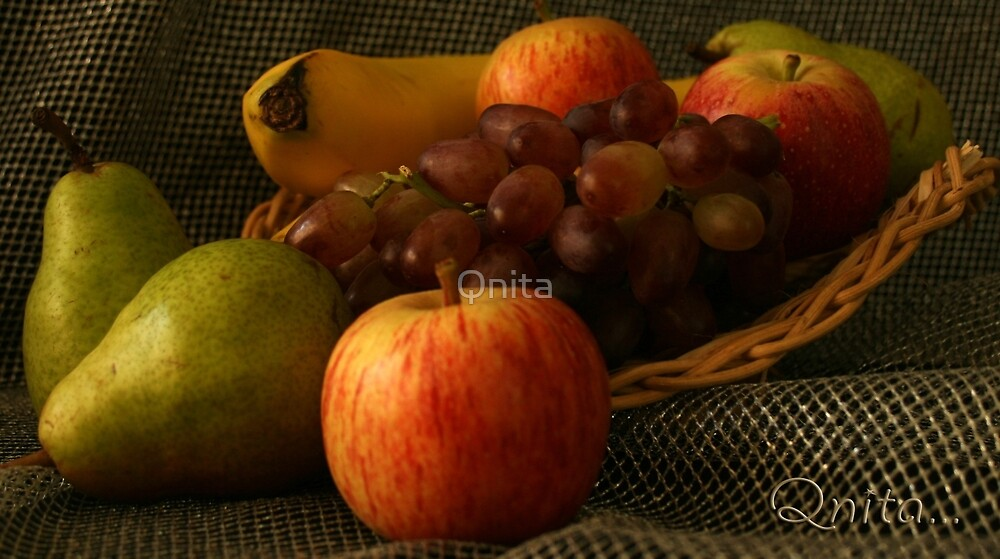 Fruit Display... South Africa, Free State by Qnita