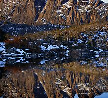 Mt Geryon Reflection by Doug Thost