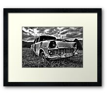 Old School! Framed Print