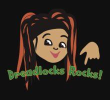 Dreadlocks Rocks fan Tee by patjila
