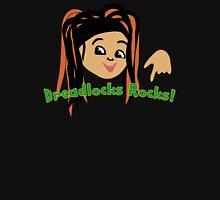 Dreadlocks Rocks fan Tee Womens Fitted T-Shirt