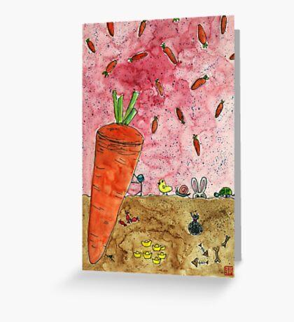Everyone Love Carrot Greeting Card
