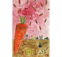 Everyone Love Carrot Photographic Print