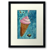 It Look Like Ice-cream Framed Print