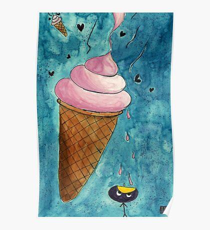 It Look Like Ice-cream Poster