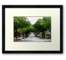Gawler Street - Mount Barker Framed Print