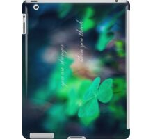 you are stronger than you think iPad Case/Skin