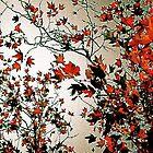 Leaves In Flight by Julie Marks