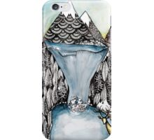 An alpine scene iPhone Case/Skin
