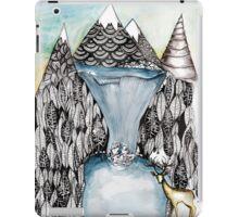 An alpine scene iPad Case/Skin