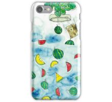 Why Watermelon Drop from Bottle? iPhone Case/Skin