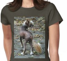 Chinese Crested Dog Womens Fitted T-Shirt