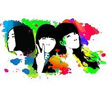 Perfume Band Girls Photographic Print
