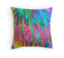 Veins of Life Throw Pillow