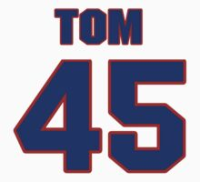 National football player Tom Moriarty jersey 45 by imsport