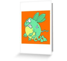 Bug critter grrrrrrrrrrrr. Greeting Card