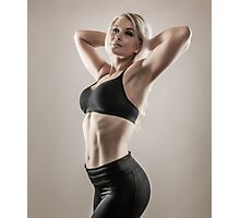 Fitness woman Photographic Print