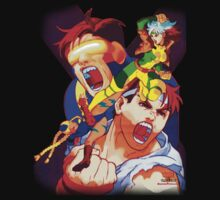 CAPCOM & MARVEL : X-MEN VS STREET FIGHTER  by BunnyRomero