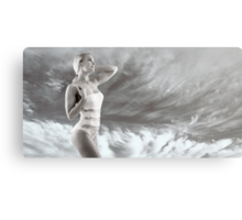 Girl on swimsuit Canvas Print