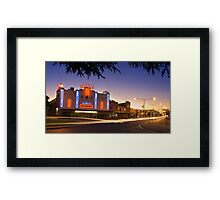 Roxy Theatre Framed Print