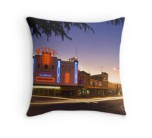 Roxy Theatre Throw Pillow