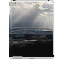 abstract hilly landscape iPad Case/Skin
