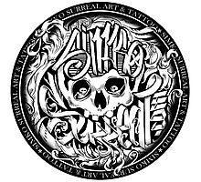 simko surreal skull Photographic Print